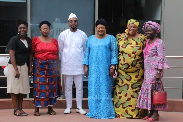 Rachael Oniga Joins Ambassador Felix King & Daughter To Host Valentine Lunch For Widows photo