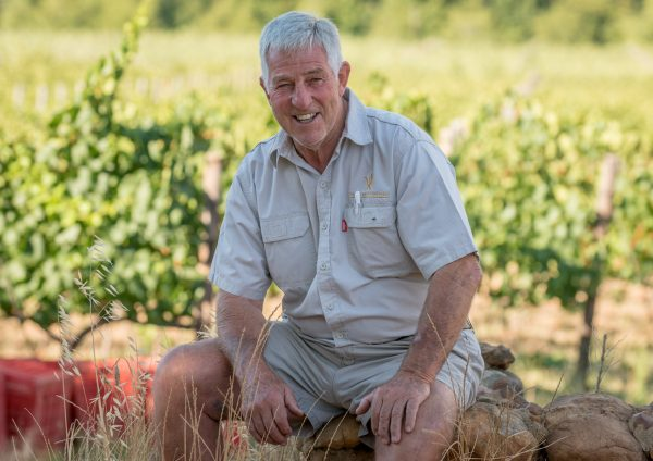 Dan really likes Vriesenhof wine photo