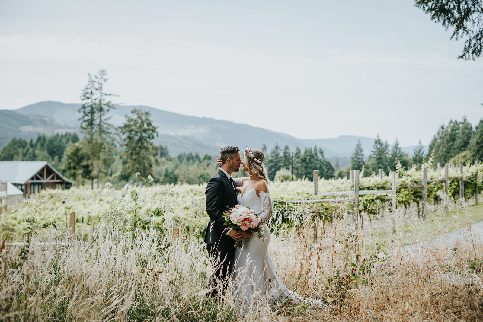 Tips To Plan Your Wedding From Vancouver Island's Blue Grouse Estate Winery photo