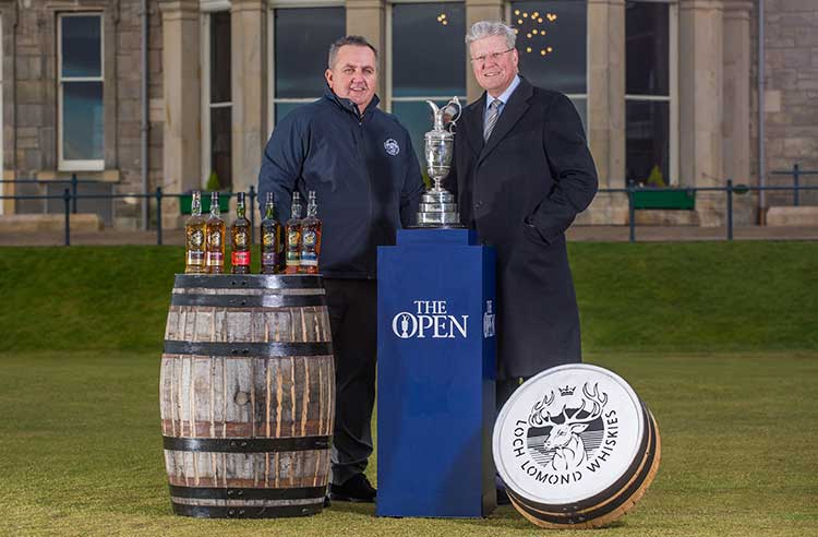 Loch Lomond Whiskies Agrees Partnership With The Open photo