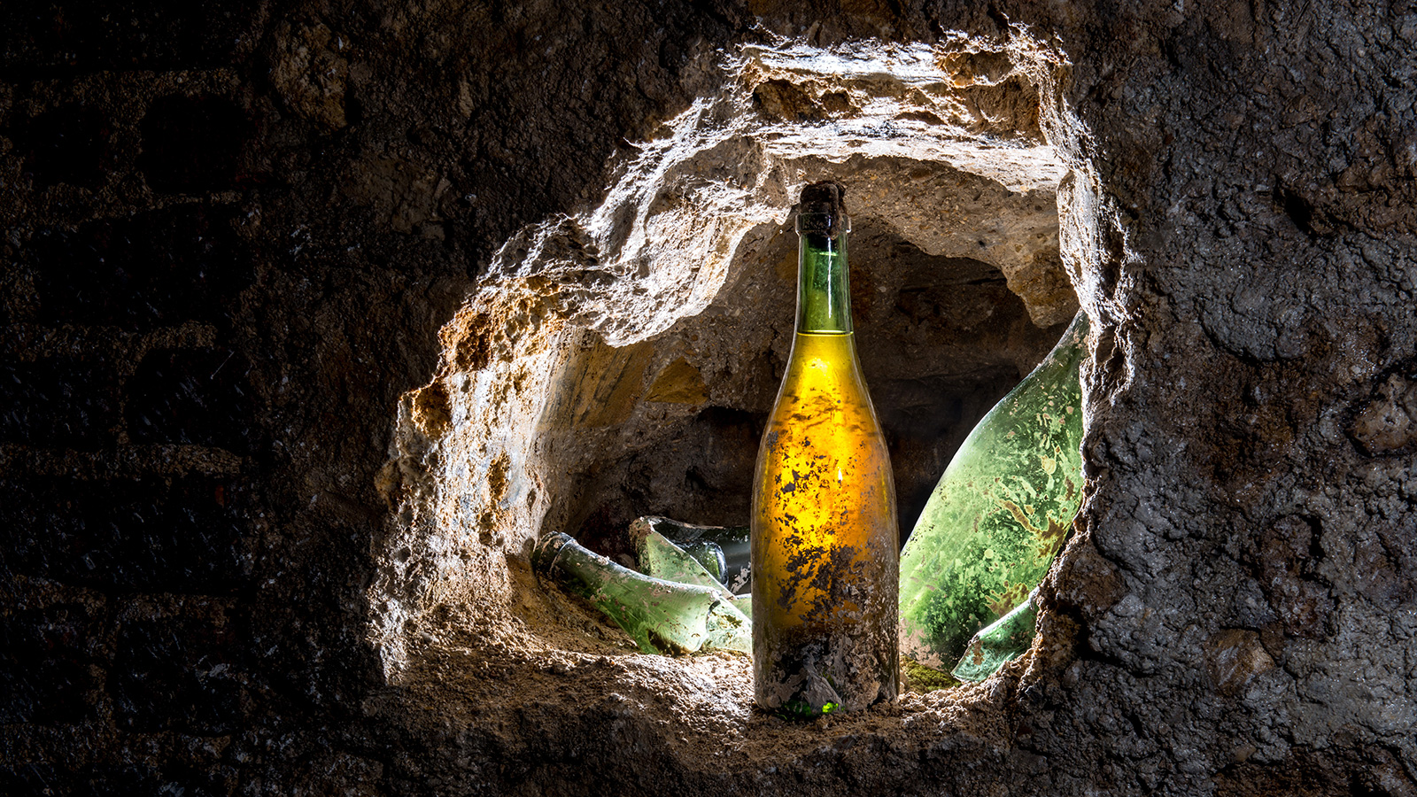 Buried Bubbly Could Be Buried Treasure photo
