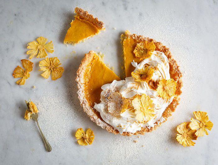 This Pineapple Coconut Macaroon Tart Is The Perfect Summer Treat! [recipe] photo