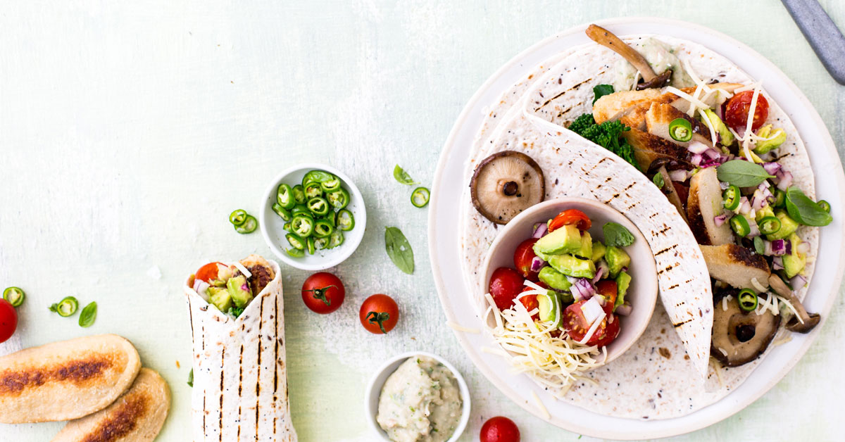 Vegetarian Quorn Mexican Fajitas photo