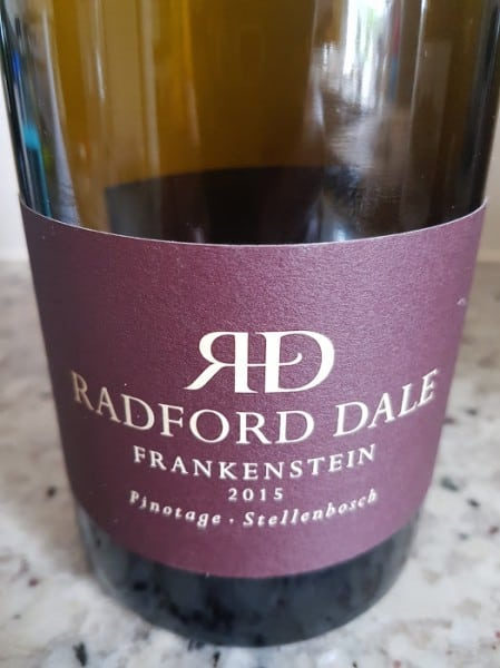 Radford Dale Frankenstein Pinotage 2015 photo