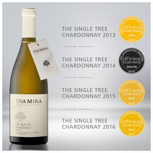 The Single Tree Chardonnay from Uva Mira excels at the Drinks Business Global Chardonnay Masters photo