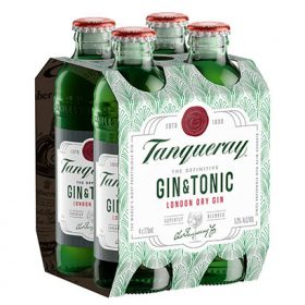 Diageo Launches Pre-mixed Tanqueray And Tonic photo