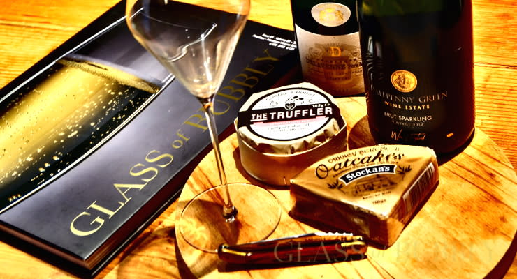 Cheese Please Though With Champagne Or English Fizz Medal Winning Wines? photo