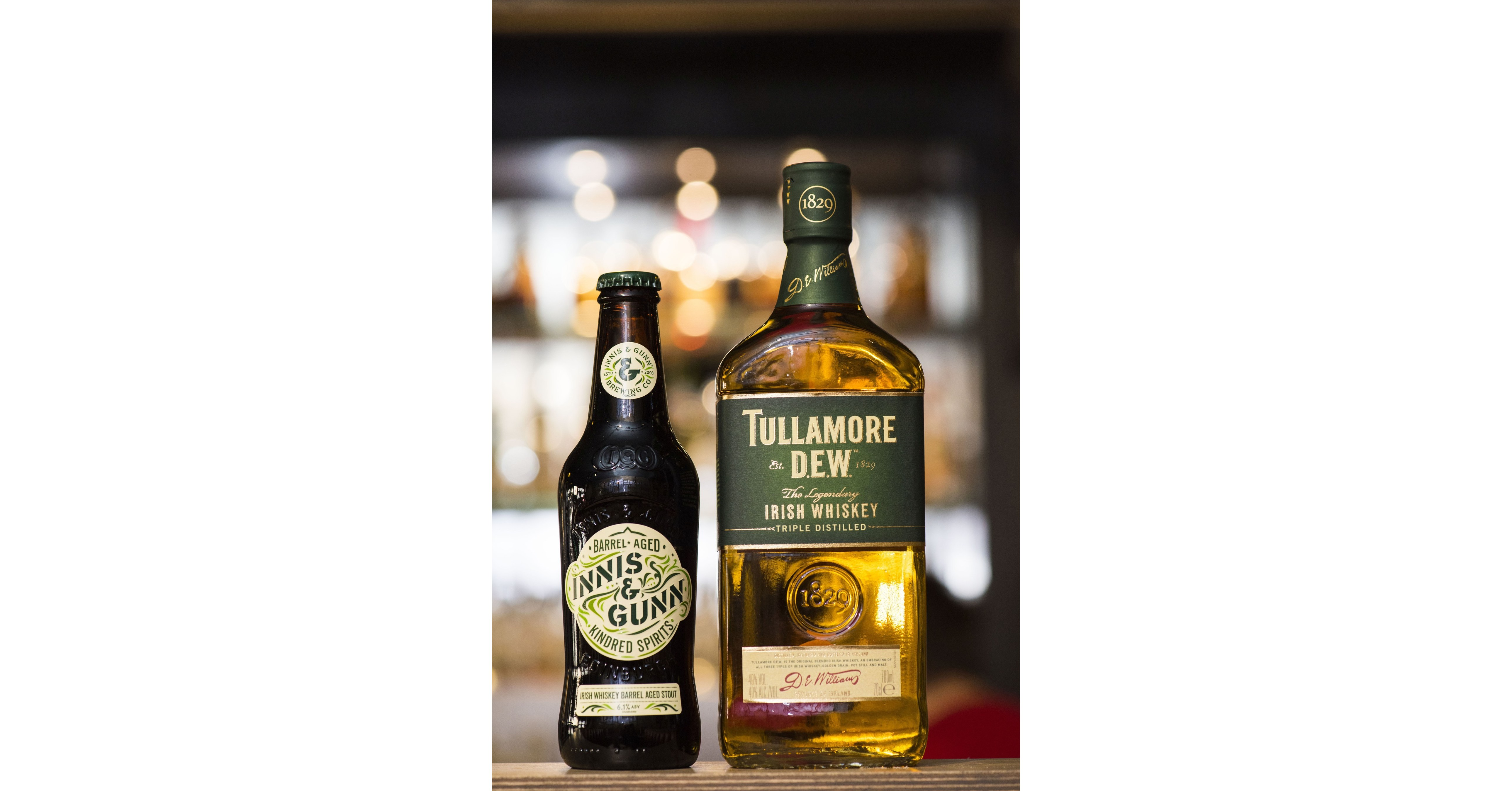 Innis & Gunn And Tullamore D.e.w. Combine Scots And Irish Craftsmanship To Launch New Limited Edition Irish Whiskey Barrel Aged Stout photo