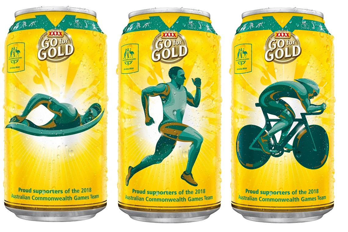 Xxxx Gold Releases Commonwealth Games Commemorative Cans photo