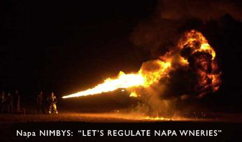 Napa Nimby Radicals' Motives Exposed: Roll Back The Napa Wine Industry photo