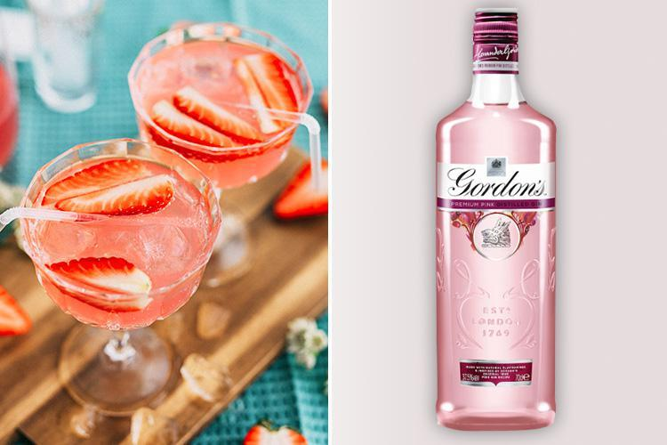Gordon's Is Selling A Pink Gin From Just £13… And It Looks Perfect For Valentine's Day photo