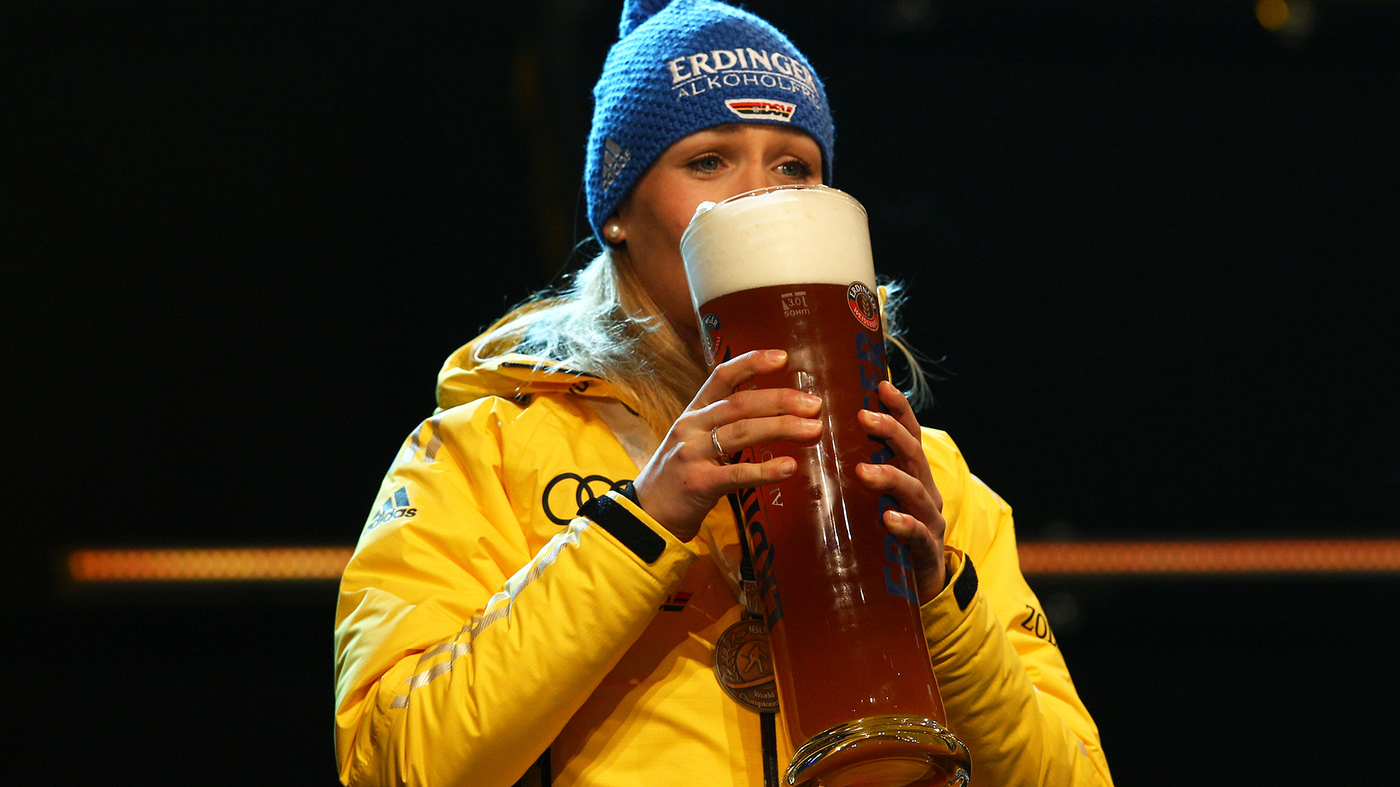 Olympians Are Using Nonalcoholic Beer As Recovery Drinks. Here's The Science photo