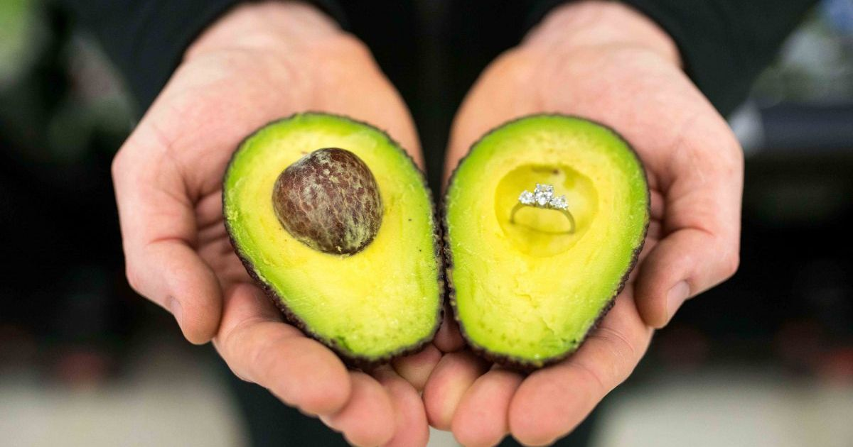 Asda Has Started Putting 'perfect For Proposal' Stickers On Its Avocados photo