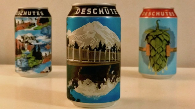 Deschutes Is Last Brewery In America To Can Their Beers (not Really) photo