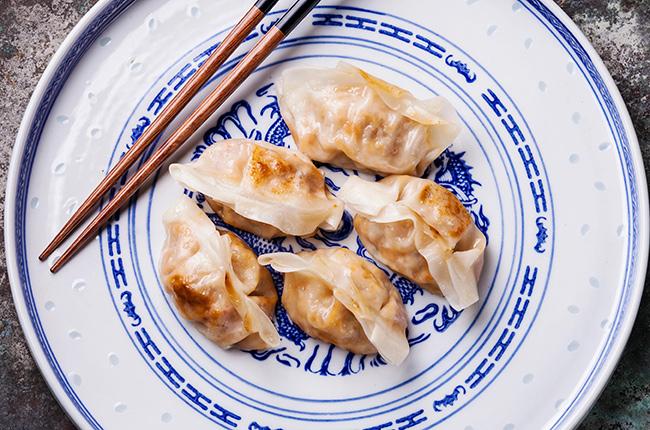 Chinese Dumplings And Wine Pairing photo
