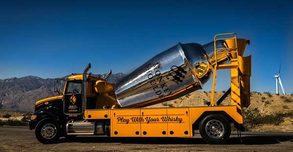 A 2,400-gallon Cocktail Shaker Full Of Scotch Whisky Is Touring America photo
