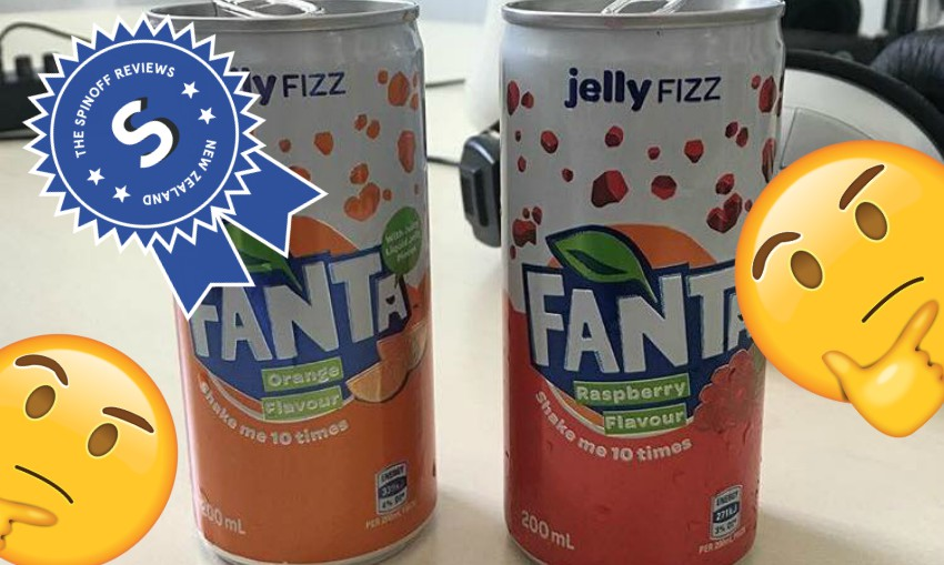 The Spinoff Reviews New Zealand #55: The Horror Of Fanta's New Jelly Fizz photo