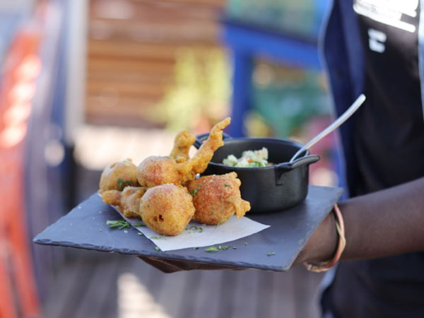 Brioche Gatsbys And Pickled Fish Bunny Chows: We Review Home Town In Woodstock photo