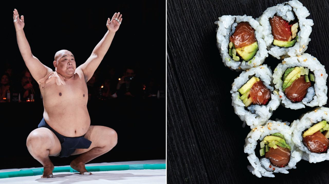 Get Sushi With A Side Of Sumo At This Event photo