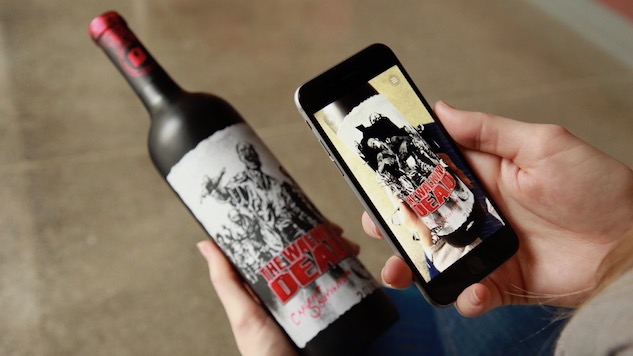 Zombie Wine Has Livelier Labels! photo