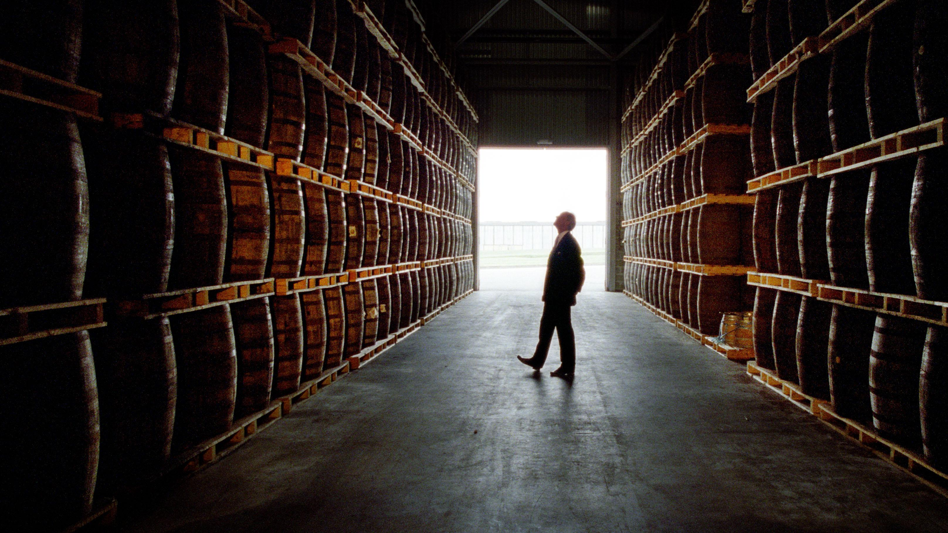 Spirit Sales Barrel Along At Pernod Ricard photo