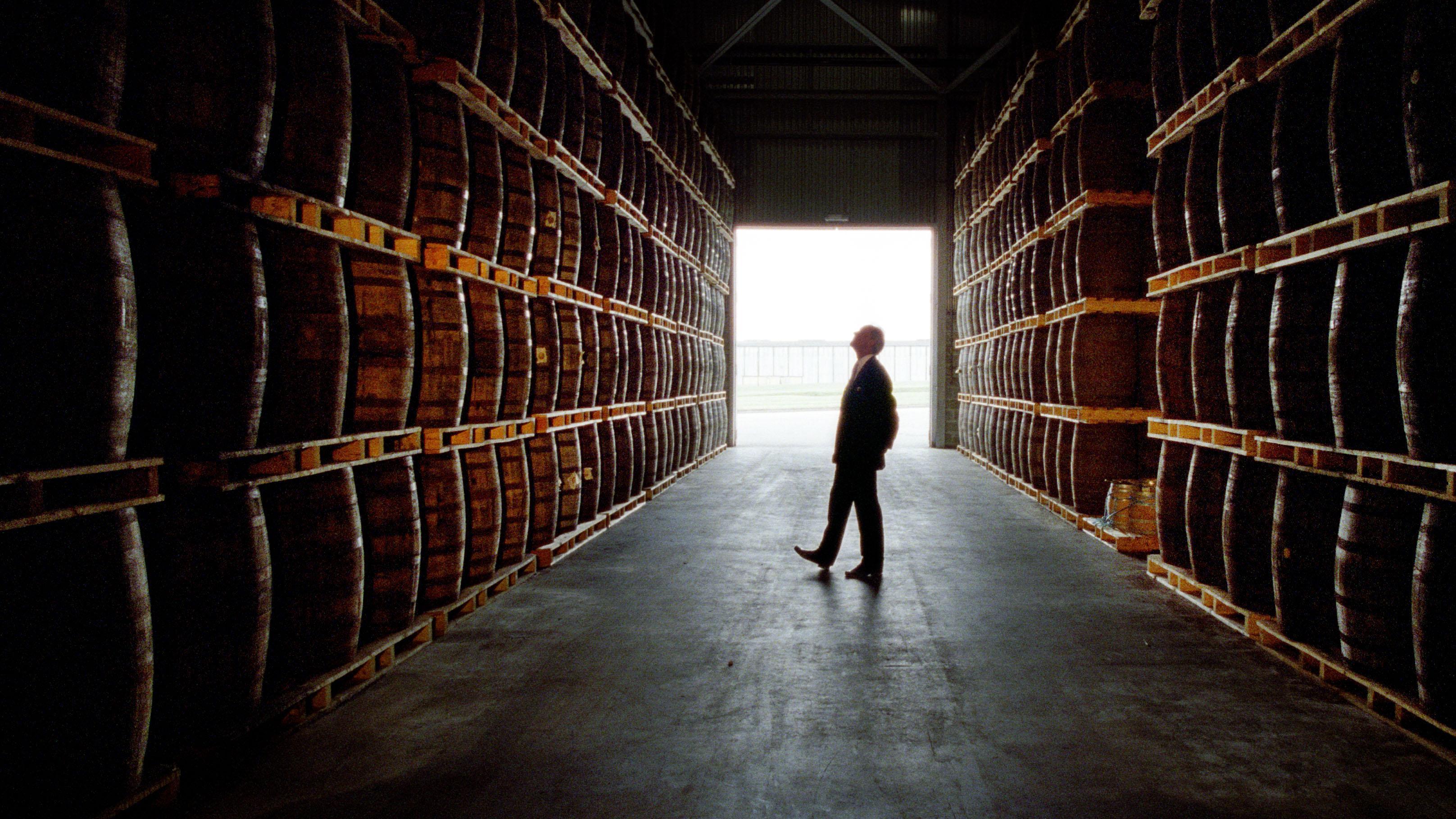 Spirit Sales Barrel Along At Pernod Ricard photo