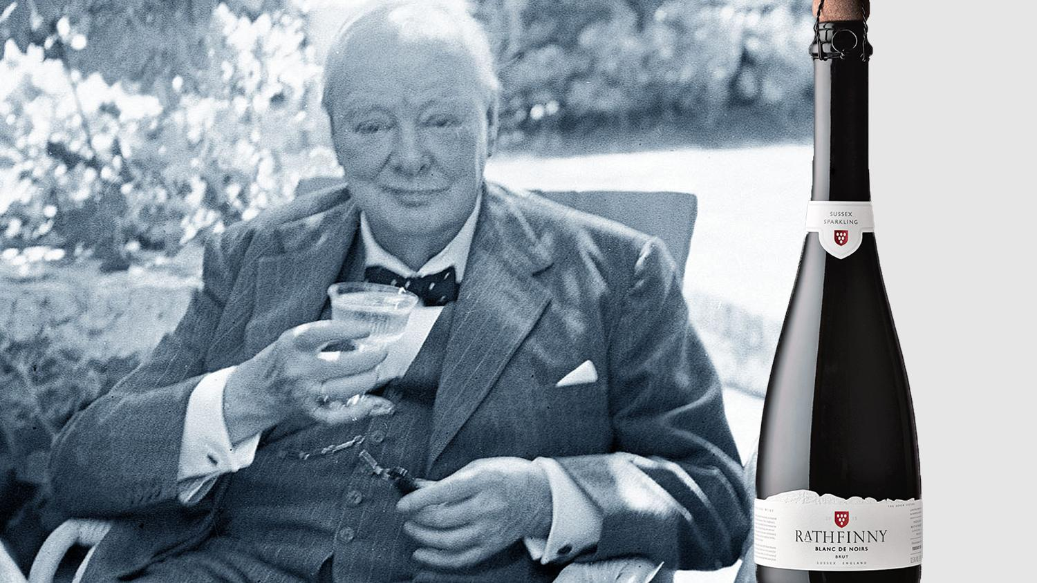 Churchill's Pint Of Champagne Set For Post-brexit Revival photo