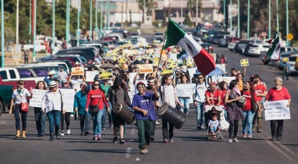 'boycott Modelo Beer!' Mexicali Resiste Fights For Water Rights photo