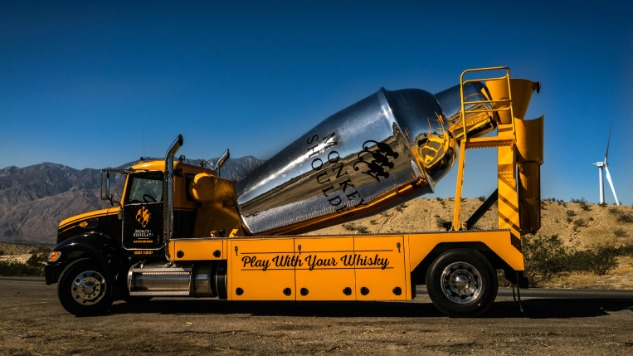 Monkey Shoulder Is Touring The U.s. With A 2,400-gallon Cocktail Shaker photo