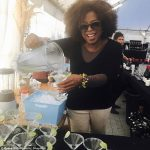 Oprah Winfrey loves drinking margaritas, according to Reese Witherspoon. photo