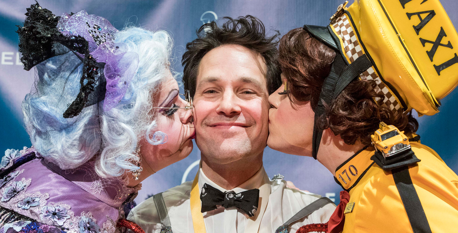Paul Rudd Honored As Harvard?s Hasty Pudding Man Of The Year! photo
