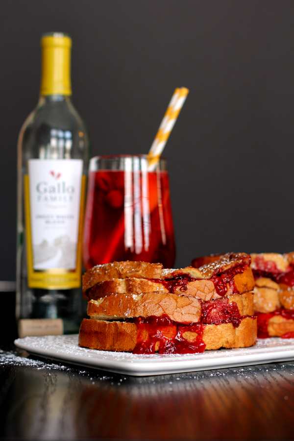 Sangria Stuffed French Toast photo