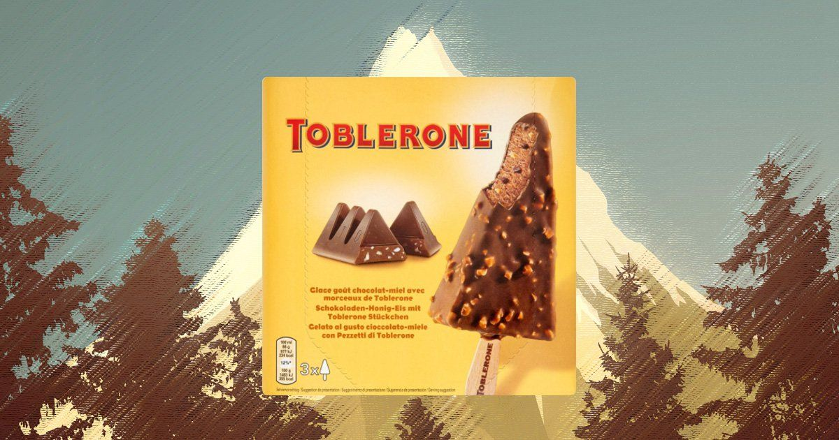 Toblerone Ice Cream Is Now A Thing And We Want It photo