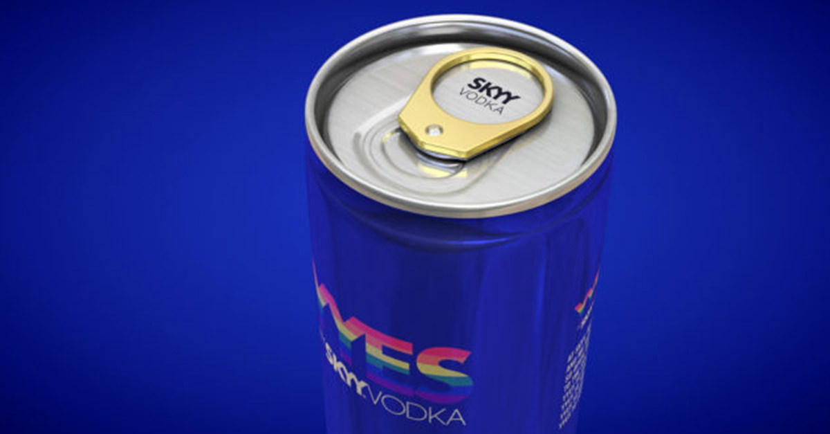 Skyy Vodka Says 'yyes' To Marriage Equality With Engagement Ring-clad Cans photo