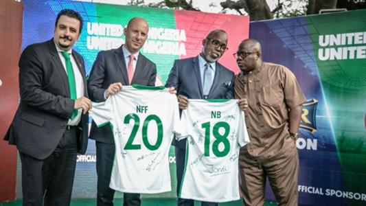 Nigerian Breweries, Nff Kick-off Partnership photo