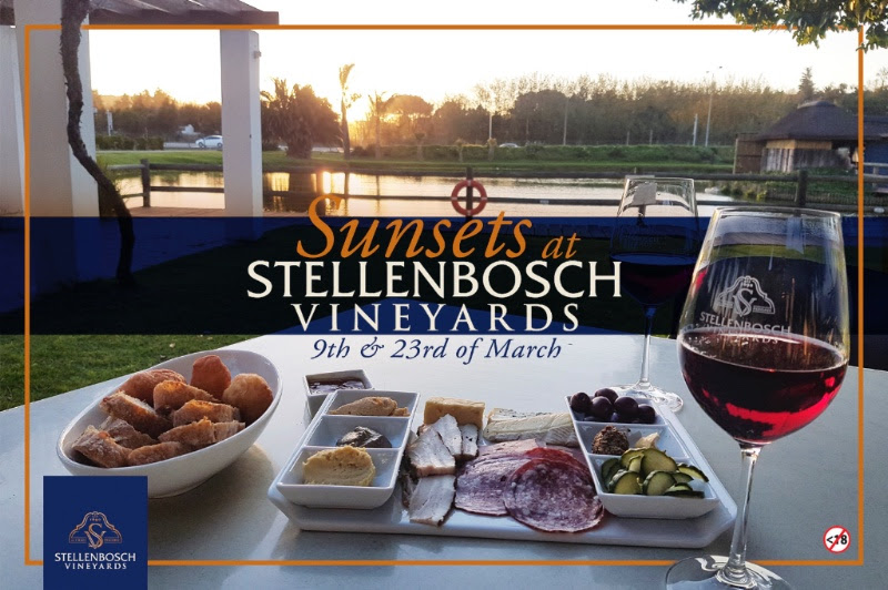 Tapas, Wine and Sunsets at Stellenbosch Vineyards photo