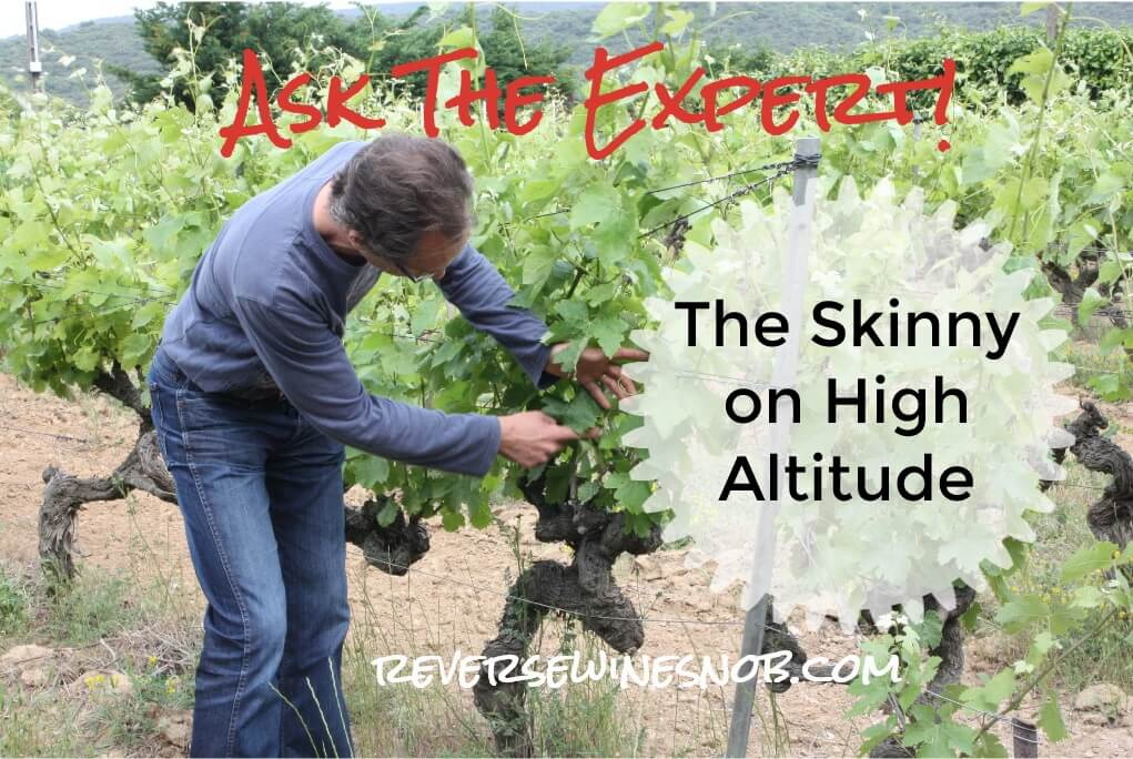 How Does Altitude Affect Wine? Ask The Expert! ? Reverse Wine Snob® photo