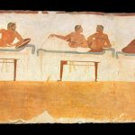 Kottabos Is A Wild Ancient Greek Drinking Game That Required Throwing Wine photo