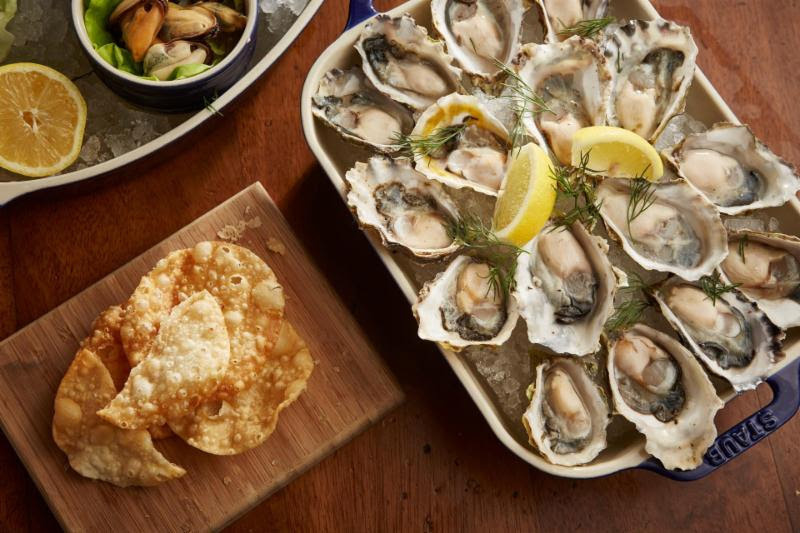 Fresh Oyster And Vodka Tasting Set For Yew Seafood + Bar On March 17 photo