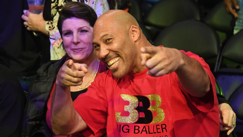 Lavar Ball Says He's Going To Sell Big Baller Brand Water photo