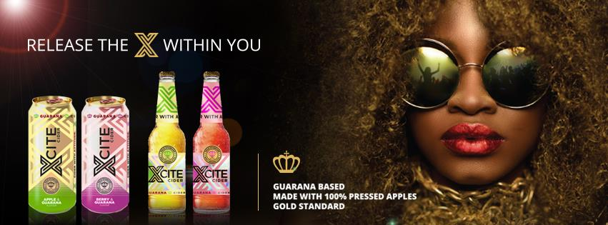 Xcite Cider is South Africa`s new energy drink with a kick photo