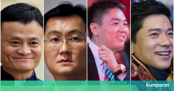 Kisah Cinta Di Balik Sukses 4 Bos Teknologi China photo
