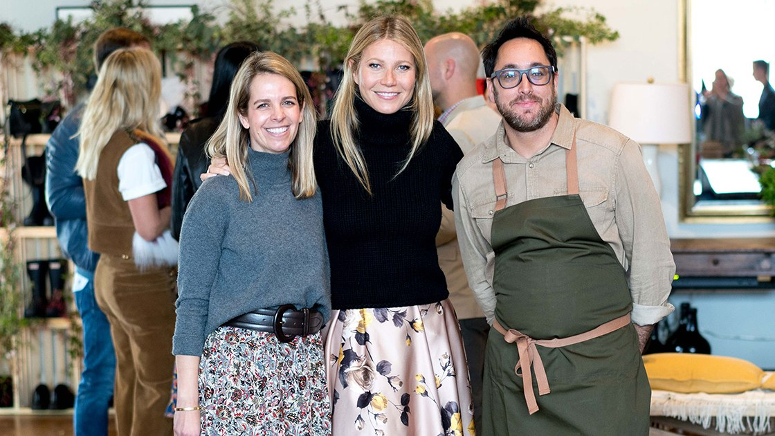 Goop Goes North With A Napa Dinner photo