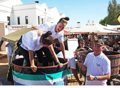 Watch: Paarl Champs Juice Up Grape-stomping Effort photo