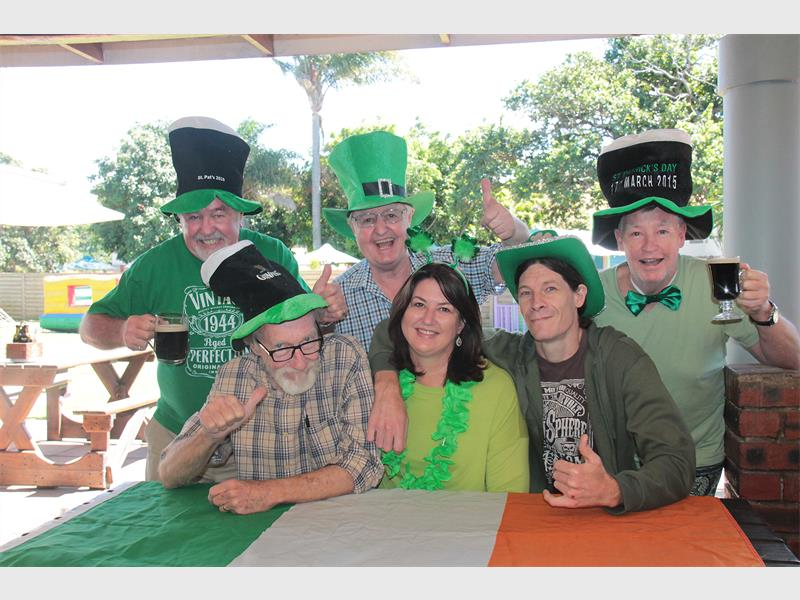 Raise Your Glass At St Paddy's Day Feast photo