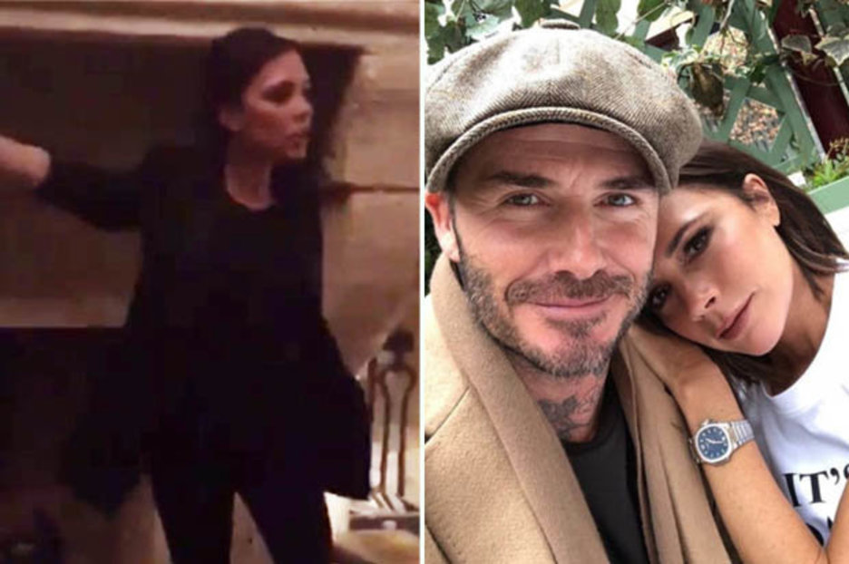 David Beckham Shares Embarrassing Video Of Wife Victoria After She Publicly Scolds Him photo