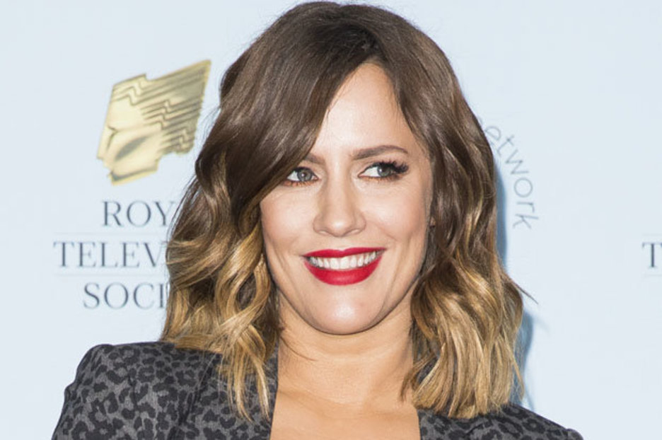 Caroline Flack Takes The Plunge In Sheer Top Exposé photo
