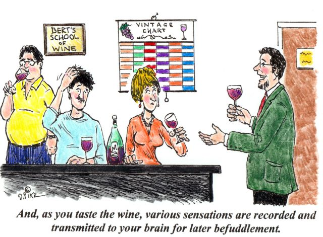 Four New Wine Cartoons By Doug Pike photo