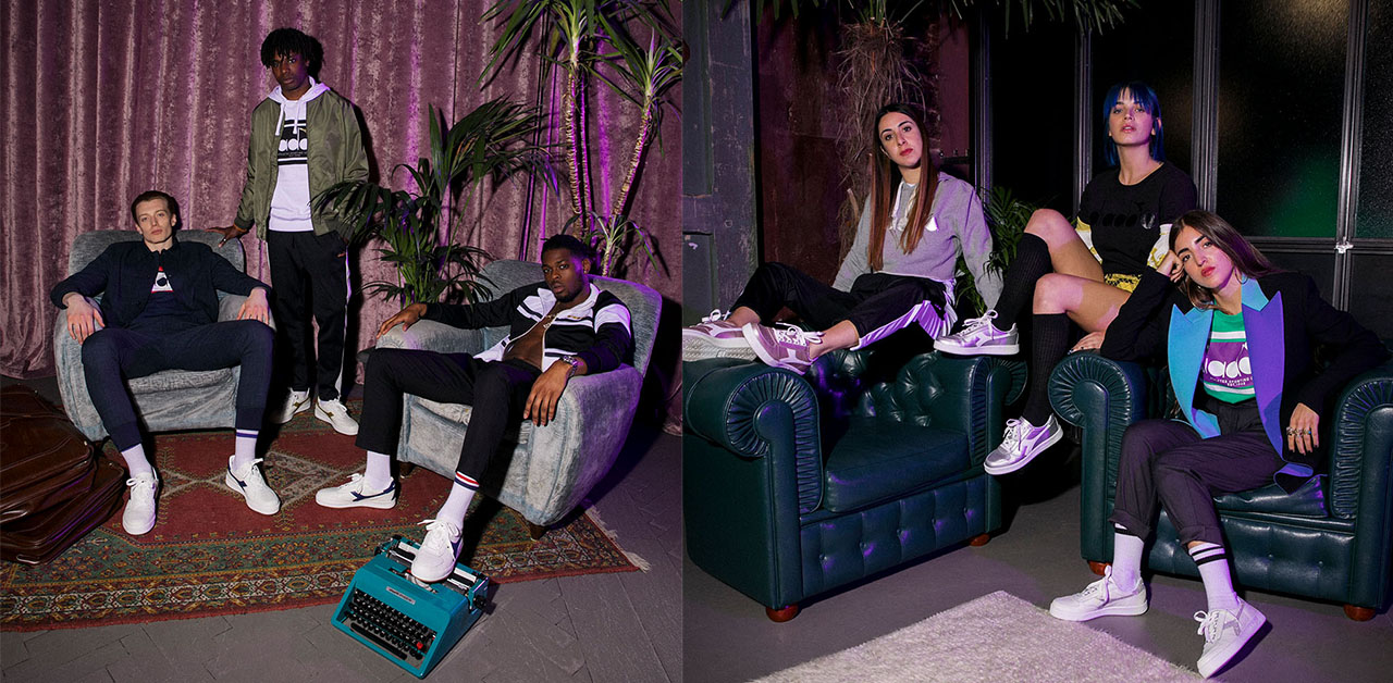 Diadora, Tornano Le Sneakers B. Elite Amate Negli Anni 80 photo