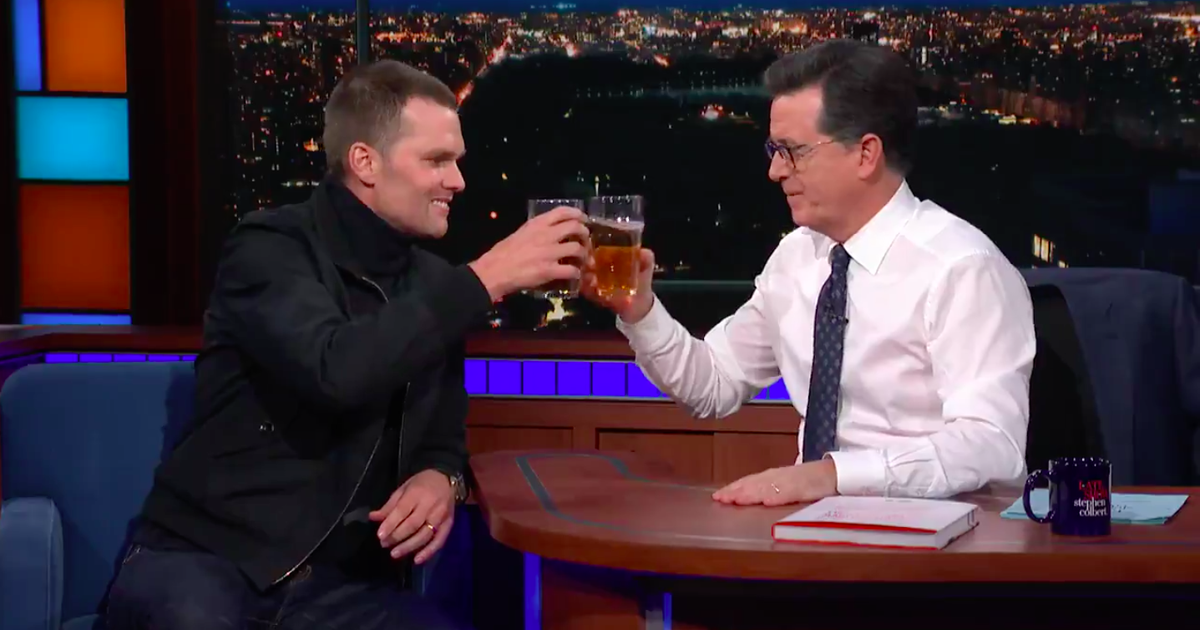 Tom Brady Can Chug A Beer Quicker Than You Can Read This Sentence photo